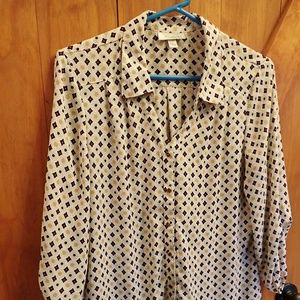 Dress Barn Women's Blouse Size Large